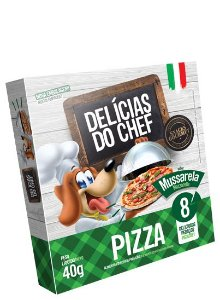 Delícias do Chef pizza sabor Mussarela 40g