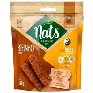 Bifinho Natural Nats NatRelax para Cães 300g