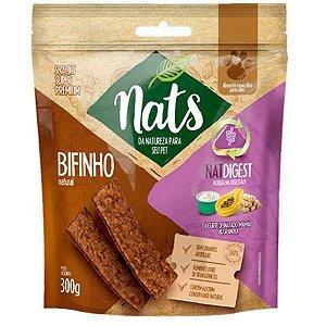 Bifinho Natural Nats NatDigest para Cães 300g