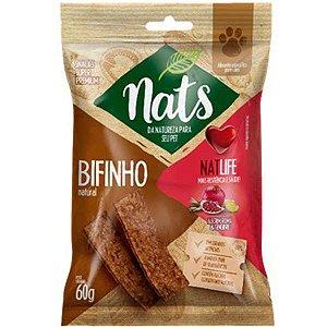 Bifinho Natural Nats NatLife para Cães 60g