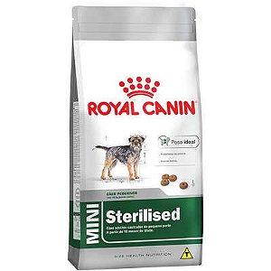 Ração Royal Canin Mini Sterilised - Cães Adultos