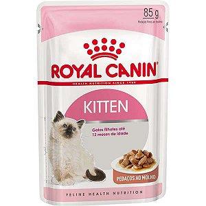 Royal Canin Sachê Feline Kitten Instinctive para Gatos Filhotes com ate 12 meses 85g