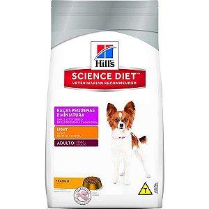 Ração Hills Science Diet Canino Light Raças Pequenas e Miniatura