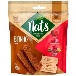 Bifinho Natural Nats NatLife para Cães 300g
