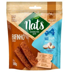 Bifinho Natural Nats NatShape para Cães 300g
