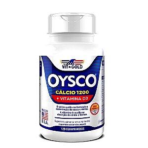 Oysco Cálcio 1200 mg + Vitamina D3 120 comprimidos
