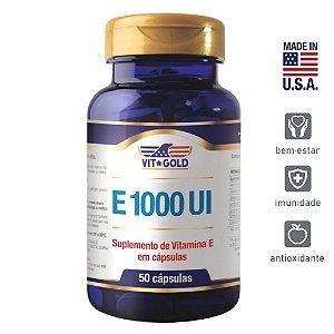 Vitamina E 1000ui Vigold 50 cápsulas