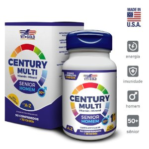 Multivitaminico Century Multi Senior Homem 90 comprimidos  + 10