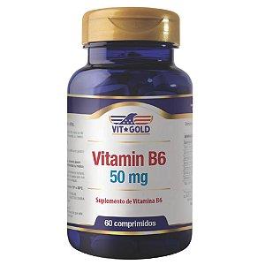 Vitamina B6 50mg Vitgold 60 comprimidos