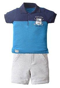 Conjunto Camisa Polo com Bermuda 86 Golf Club - Upi Uli