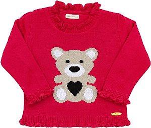 Blusão Urso Diversas Cores - Bebelândia