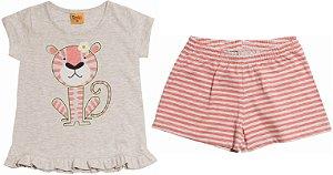 Pijama Tigresa - Brilha no Escuro - Rolú