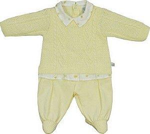Macacão Tricot Diversas Cores- Beth Bebê