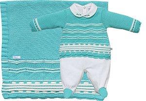Kit Maternidade Tricot Sophia - Beth Bebê