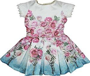 Vestido Flores - Matinée