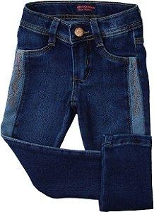 Calça Jeans Recorte - Jeito de Criança