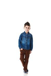 Calça Jeans Sport Diversos Cores - Jeito de Criança
