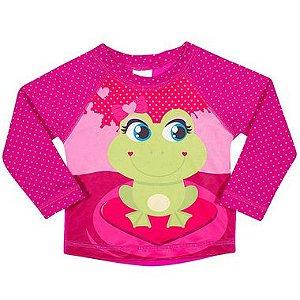 Camiseta Praia Manga Longa Baby - Tip Top