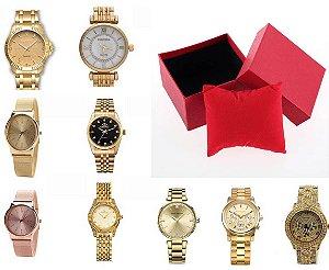 Kit 10 Relógios Femininos Atacado. Relogio Para Revender!
