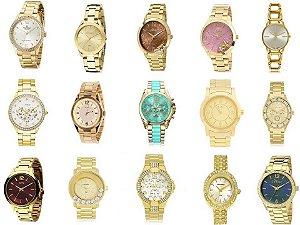 Relógios No Atacado Para Revender Na Folheados Luxo