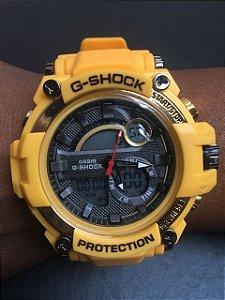 Relógio Casio G Shock GA110 Amarelo Luz de Led Com Caixinha