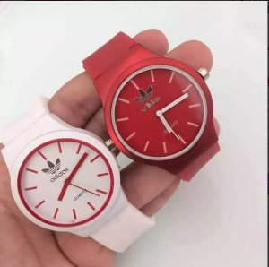 Kit 05 Relógios Adidas Feminino De Silicone No Atacado