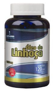 OLEO DE LINHACA 1000MG 120 CAP
