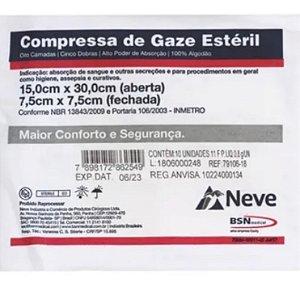 COMPRESSA DE GAZE NEVE 10UN