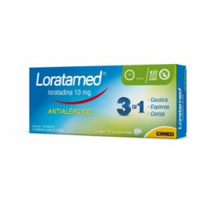 LORATADINA (LORATAMED) 10MG 12CPR