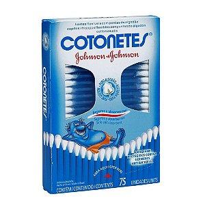 COTONETES J&J 75 UN