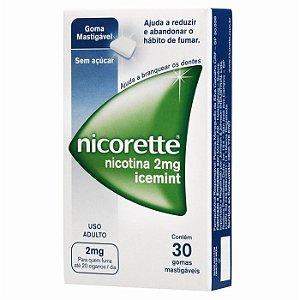 NICORETTE 2MG ICEMINT C/30 TABLETS
