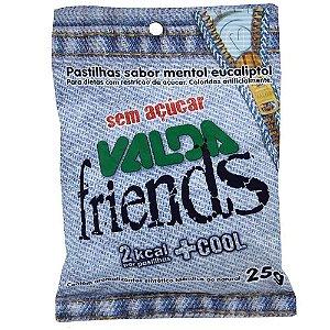VALDA FRIENDS PAST S/ACUCAR 25G