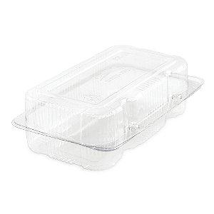 Embalagem Estojo Retângular para Doces e Salgados PR10 - 100 Unidades