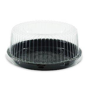 Embalagem para Bolo e Torta PR32 PRETA 18cm diâmetro - 100 UNIDADES