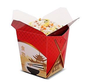 Embalagem tipo box para comida chinesa 1L CH1B - 100 unidades