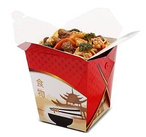 Embalagem tipo box para comida chinesa 850ml CH1 - 100 unidades