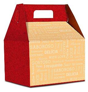 Embalagem para Lanche com alça K1 - 100 unidades