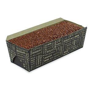 Embalagem Forma Cake Forneável Bolo Inglês sem Tampa 100 Unidades