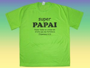 Camisa Evangélica Dia Dos Pais