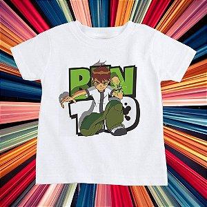 T-SHIRTS POLIÉSTER INFANTIL BEN 10