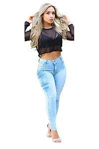 Calças jeans feminina no atacado Kit com 6 unidades