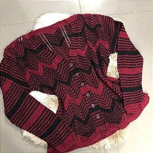 Cardigan feminino em tricot Kit com 6 unidades  159,99