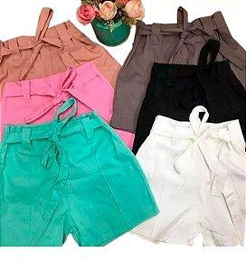 Kit com 6 Shorts Bengaline Atacado