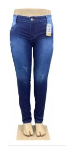 Calça Jeans Plus Size Kit Com 3 Atacado