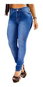 Calça Jeans Femiina Cintura Alta Skinny