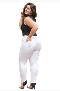 Calça Branca Plus Size Enfermagem - Promoção