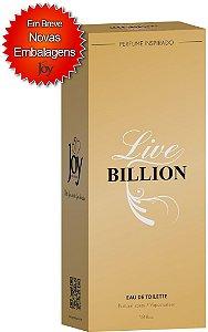 LIVE BILION (F) 55ml - Inspirado