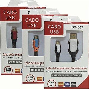 Cabo Usb Samsung Htc Nokia Motorola Black Blackberry