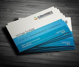 Cartão de Visita Personalizado - 1000 Unidades