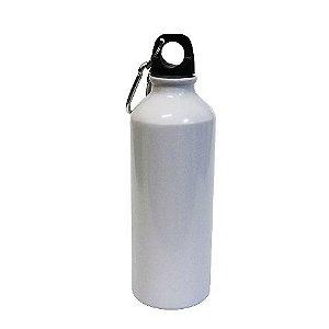 Garrafa Squeeze De Alumínio Com Mosquetão 500ml